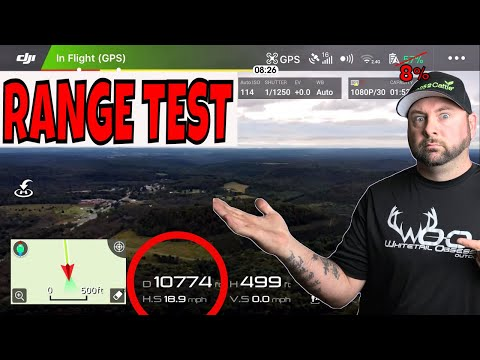 ALMOST CRASHED MY NEW DJI MAVIC AIR DRONE! RANGE TEST!!