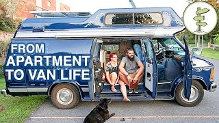 Van Life - Couple Moves From Apartment to Camper Van Full Time full download video download mp3 download music download