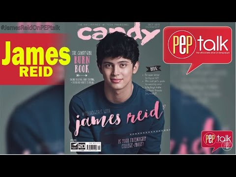 "PEP TALK. James Reid On His Popularity: ""I Get Sick, I Get Butterflies... Kinakabahan Pa Rin Ako."""