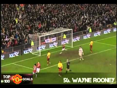 top 100 manchester united goals