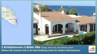 Sant Lluis Spain  city photo : 3 Schlafzimmern 2 Bäder Villa zu verkaufen in S´Algar, Sant Lluís, Illes Balears, Spain