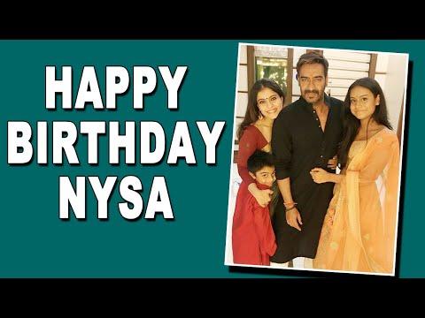 Ajay Devgn, Kajol pen birthday wish for daughter Nysa.