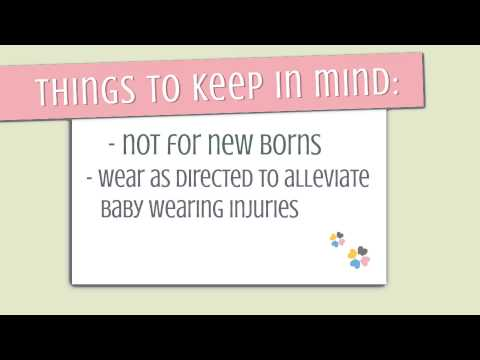 Instructional Video on How to use your SUPPORi Baby Sling