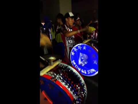 FRBS-LA GLORIOSA BANDA DEL TIBURON-JUNIORvsantafe - Frente Rojiblanco Sur - Junior de Barranquilla