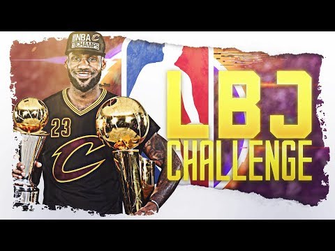 8 Straight NBA Finals...The Lebron James Challenge!