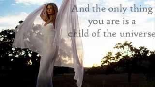 "Delta Goodrem - ""Child of the Universe"" Lyrics"