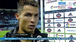 Video Declaraciones Cristiano Ronaldo post Celta 1-4 Real Madrid | LIGA JORNADA 21 MP3, 3GP, MP4, WEBM, AVI, FLV Juni 2017