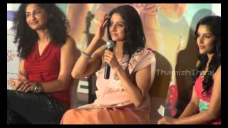 Actress Sridevi addressing Media at English Vinglish Tamil Trailer Launch
