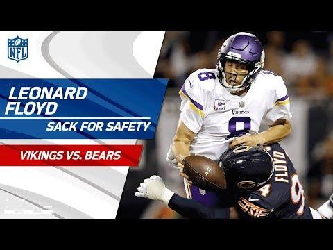Video: Leonard Floyd Brings Bradford Down for a Safety!