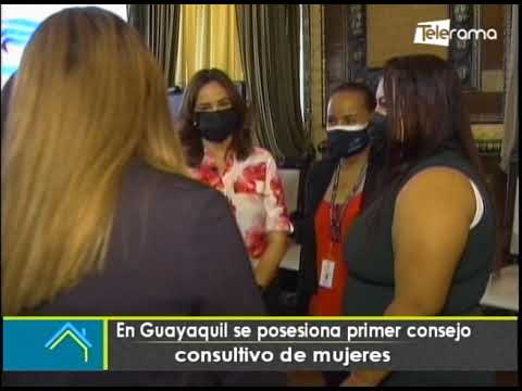 En Guayaquil se posesiona primer consejo consultivo de mujeres