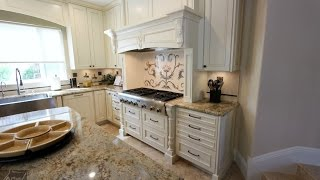 Design Build Custom Traditional Kitchen Remodel in Huntington Beach