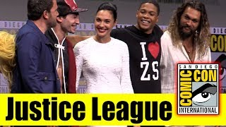 "Watch the Full Panel for ""Justice League"" from the 2017 San Diego Comic Con with Watch All Comic Con 2017 Panels ..."