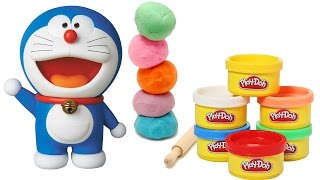 Play Doh Making of Doraemon Cartoon,clay molding for kids,clay molding for children,clay molding tutorial for children,modeling clay tutorial for kids,clay m...