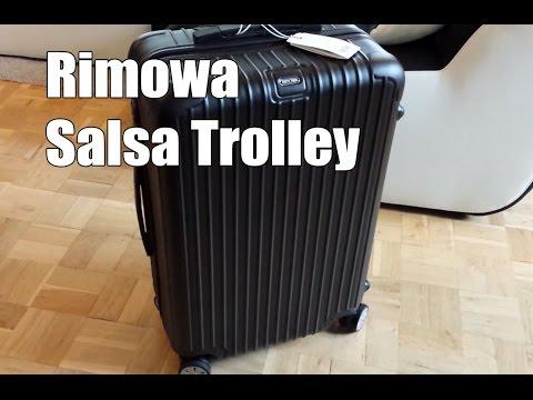 Rimowa Salsa Multiwheel Trolley 63 Test und Review (Deutsch)