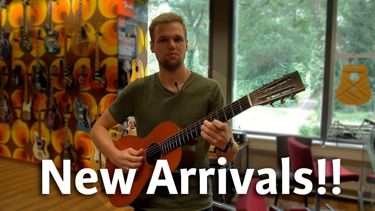 1896 Ditson Guitar! | New Arrivals #19 | @ The Fellowship of Acoustics