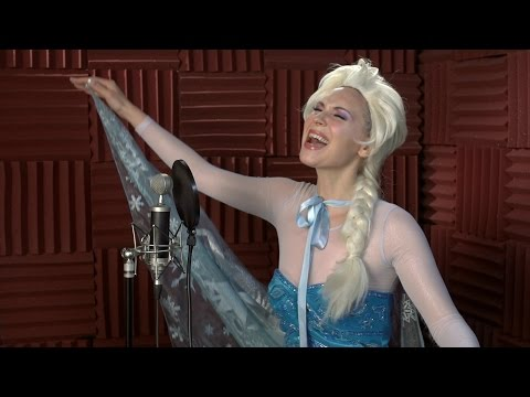 barelypolitical - Queen of Ice Elsa is back to record the