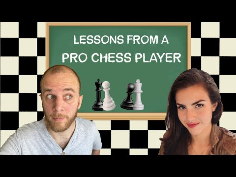 Chess Lesson From WFM Alexandra Botez (Chess)