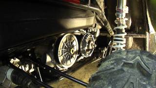 10. Arctic Cat Wildcat clutch disassembly removal