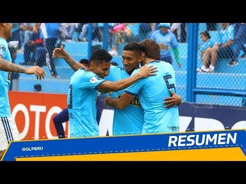 Спортинг Кристалл - Molinos El Pirata 4:0. Видеообзор матча 20.10.2019. Видео голов и опасных моментов игры
