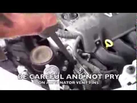 how to change alternator scion xb