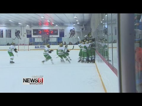 Notre Dame HS hockey player scores winning goal, his dad passed away just hours before..