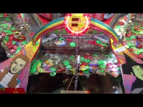 Coin Pusher Jackpot Huge Win – Wizard of Oz Part 2