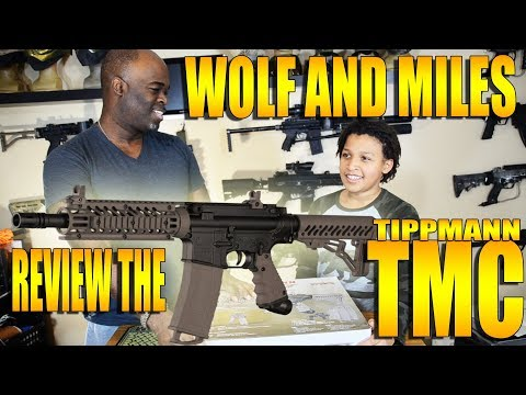 WOLF & MILES REVIEW THE TMC MAG FED PAINTBALL MARKER!