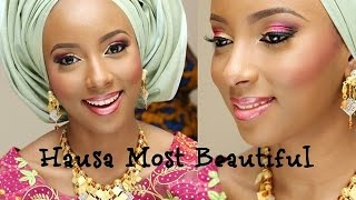 Some of the beauties you will find in Northern Nigeria. It shows how beautiful they are and eradicate the stereotype the west puts...