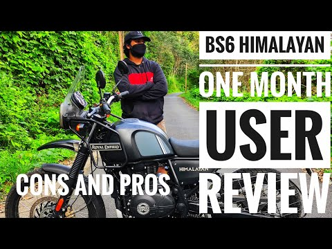 BS6 HIMALAYAN ONE MONTH  USER REVIEW || CONS AND PROS || CAM MATES