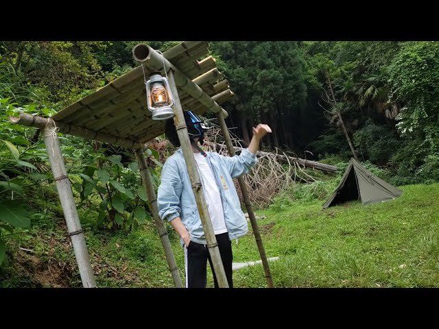 "DJキャブヘイ、山を買う! ――DAY2:薪置き場を作るはずが、完成したのは""謎のバス停""!?"