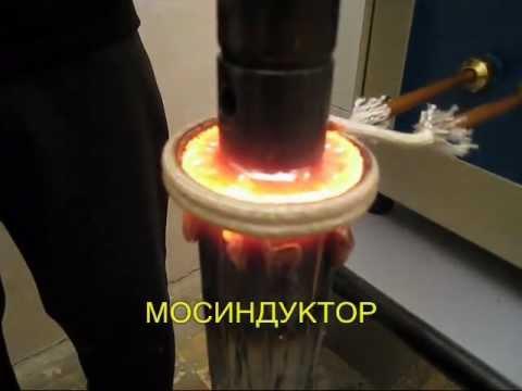 Индукционная пайка ротора электродвигателя