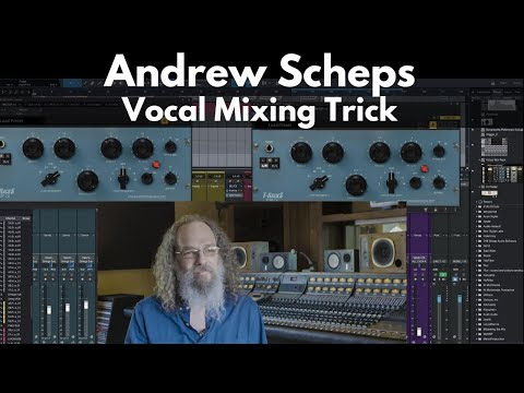 Andrew Scheps Vocal Mixing Trick | Get Your Vocals To Cut Through The Mix