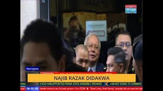 Video Najib Razak tiba di Mahkamah Kuala Lumpur MP3, 3GP, MP4, WEBM, AVI, FLV September 2018