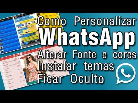 Baixar whatsapp - Como baixar temas, mudar cor, alterar fonte e ficar oculto no WhatsApp usando o WhatsApp+ Plus