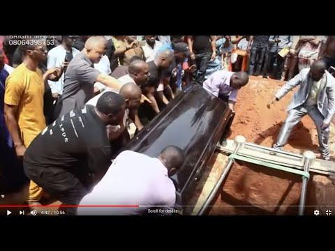 Bright Media at Eze ndi Igbo na China__Funeral Ceremony at his home town Adazi Nnukwu