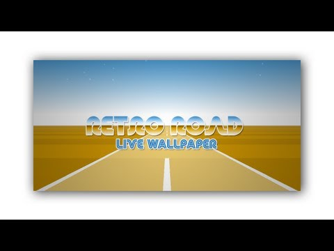 Video of Retro Road Live Wallpaper