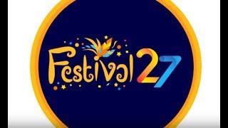Dalam rangka menyambut HUT SCTV ke - 27, SCTV mengadakan Festival 27 SCTV  yang hadir di 2 pulau di 7 kota Indonesia. Ikuti lomba Senam Saus, Kuliner 27, Game 27, Layar Tancap dan keseruan lainnya. Dapatkan hadiah jutaan rupiah menanti anda. Connect with SCTVWebsite : http://www.sctv.co.id/Facebook : https://www.facebook.com/Surya.Citra.TVTwitter : @SCTV_Instagram : @SCTV_BBM Channel : C00336FAF