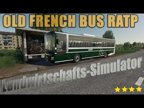 OLD FRENCH BUS RATP v1.5