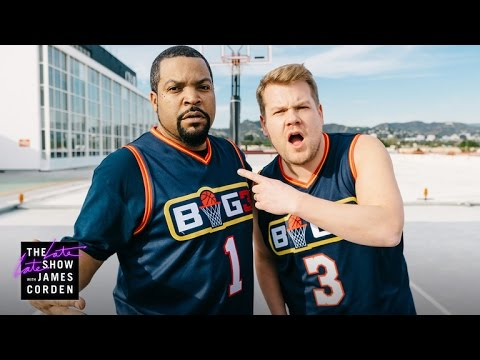 James Corden Dominates Ice Cube on the Basketball Court