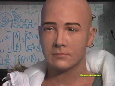 Jules - Jules is a Conversational Character Robot designed and built by David Hanson. Jules is Ai, made with a light weight material called Frubber™ , which enables ...