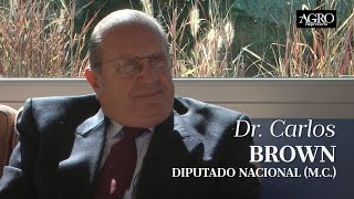 Dr. Carlos Brown - Diputado Nacional (M.C.)
