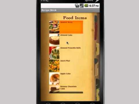 Video of Recipe Book