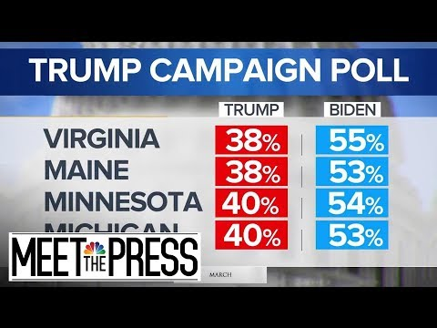 Trump Campaign Cutting Ties With Pollsters After Internal Numbers Leaked | Meet The Press | NBC News