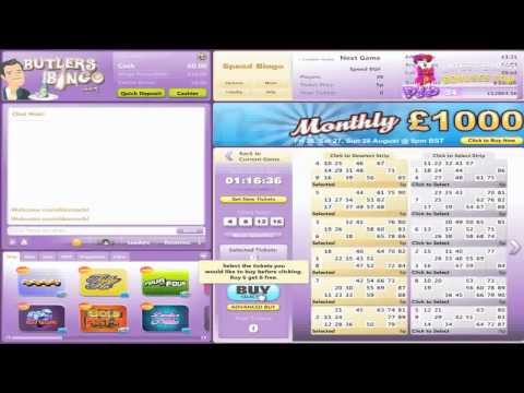 Butlers Bingo Video Review