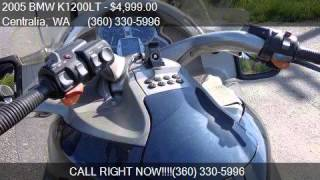 7. 2005 BMW K1200LT  for sale in Centralia, WA 98531 at State S
