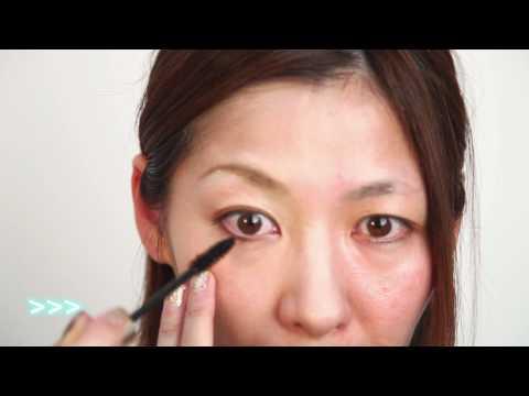 30代ナチュラルな大人可愛いメイク Adult cute make-up