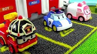 Coches para niños - Coche de policia - Camiones infantiles - Camión de bomberos - Robocar Poli full download video download mp3 download music download