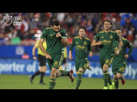 Video: GOLAZO | Diego Valeri puts the Timbers on the board against FC Dallas