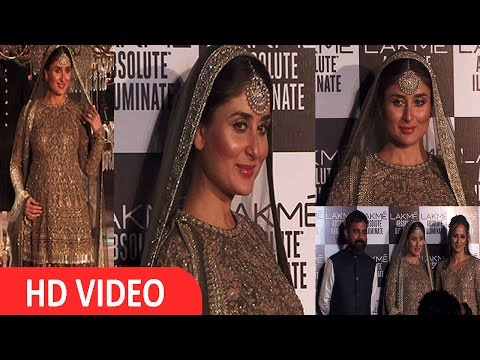 Kareena Kapoor Khan | Showstopper | Designer Sabyasachi | Grand Finale Of LFW 2016