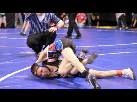 2012 Brute Nationals Wrestling Tournament Highlights - Day 1 Elementary Matches